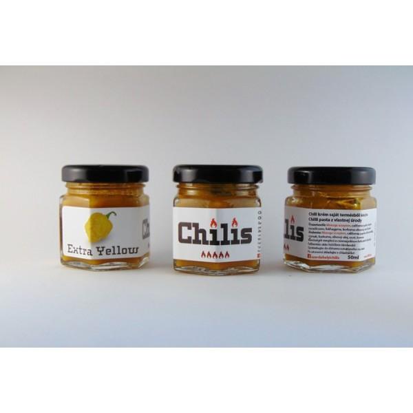 Chilis Extra Yellow-pálivá žltá chilli pasta 50ml