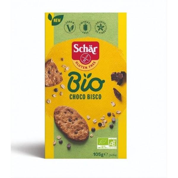 Sušienky Choco bisco bezlepkové Bio 105g Schär