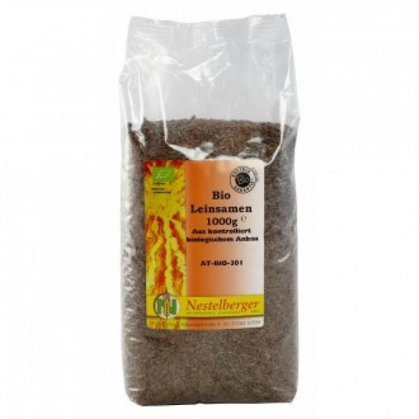 Ľanové semienka BIO 1000g