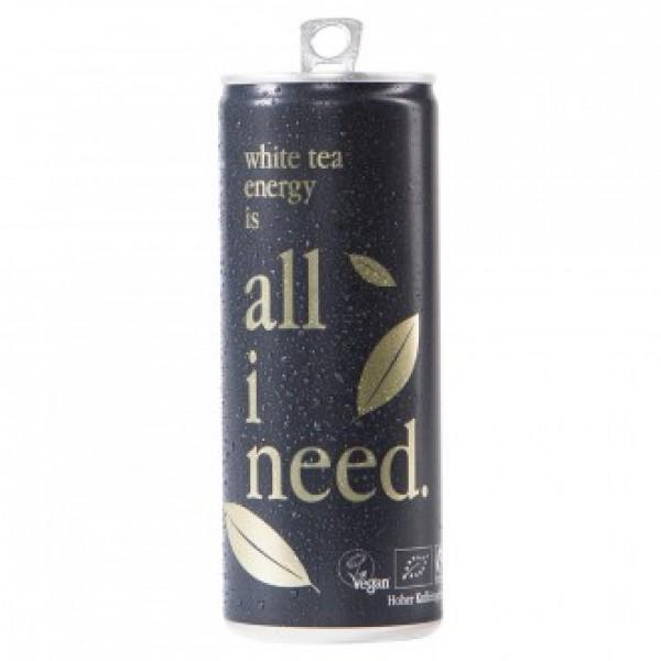 Energetický nápoj s bielym čajom BIO 250ml