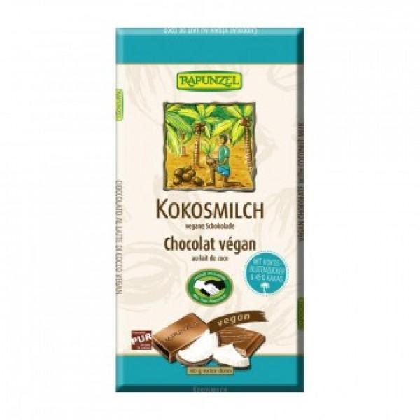 Čokoláda z kokosového mlieka BIO 80g RAPUNZEL