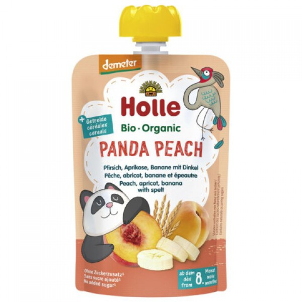 Pyré broskyňová panda  Holle BIO 100g
