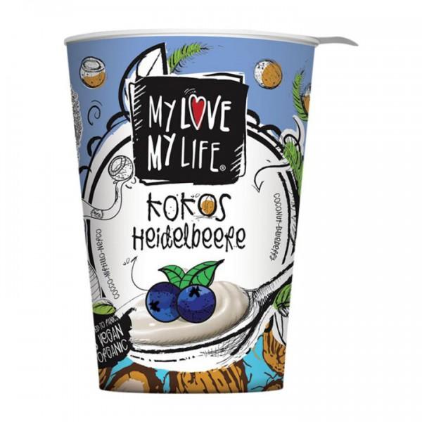 Jogurt z kokosového mlieka čučoriedkový 180g