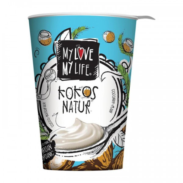 Jogurt z kokosového mlieka natur 400g