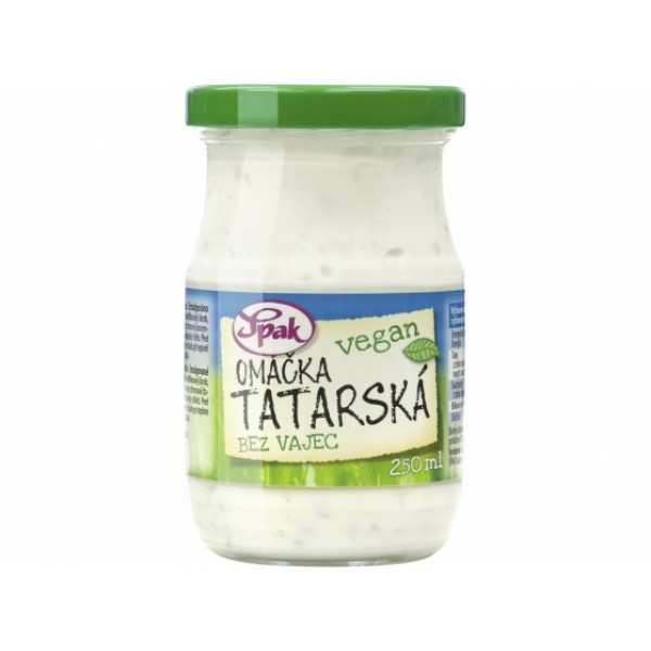 Tatárska omáčka vegánska 250 ml
