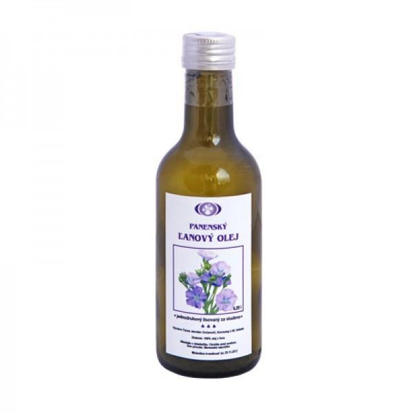 Ľanový olej panenský 250ml