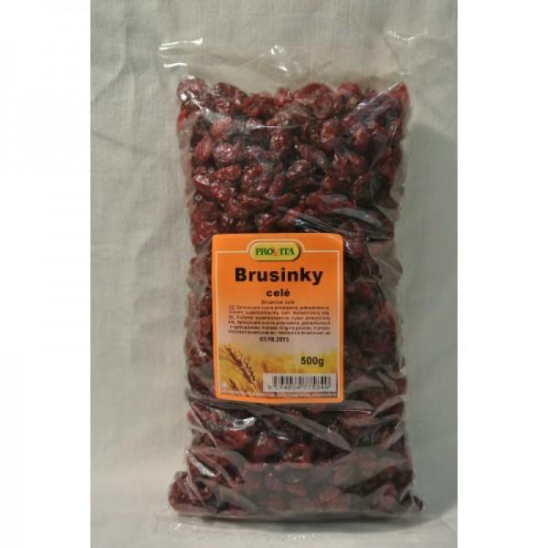 Brusnice sušené 500g Provita