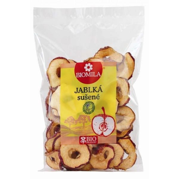 Sušené jablká BIOMILA 100g