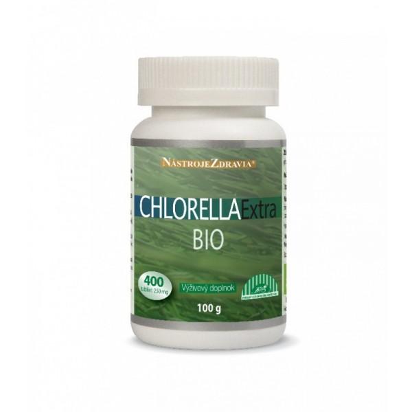 Chlorella extra BIO 100g/400 tbl.