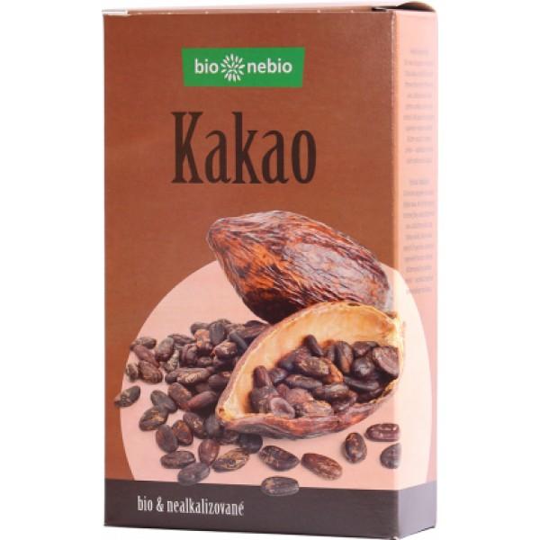 Kakao so zníženým obsahom tuku BIO 150g