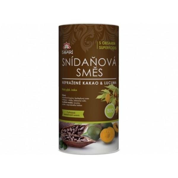 Raňajková zmes kakao lucuma RAW BIO 800g
