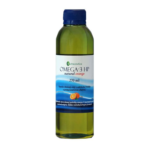 Rybí olej Omega-3 HP natural pomaranč 270ml Nutraceutica