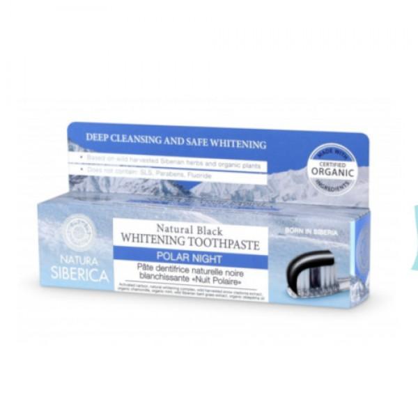 Prírodná bieliaca zubná pasta - Čierna noc 100g