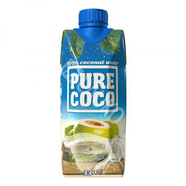 Kokosová voda Pure Coco 330ml