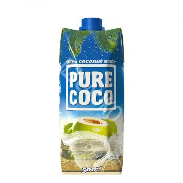 Kokosová voda Pure Coco 500ml