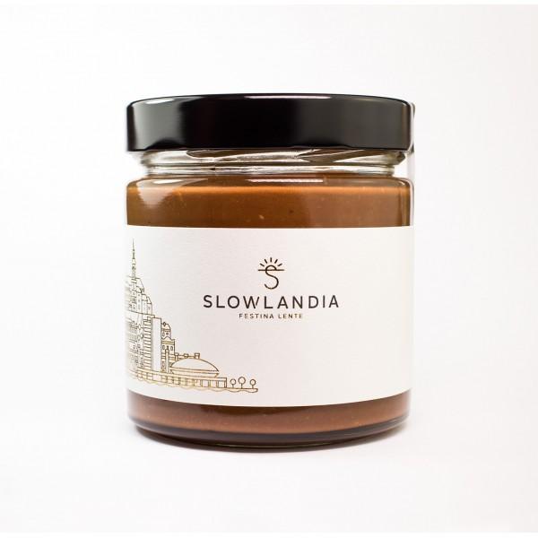 SLOWTELLA - Chrumkavý krém z lieskovcov a kakaa 300g