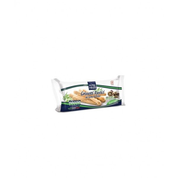 Tradičné Grisotti s ľanovými semienkami bezlepkové 100g