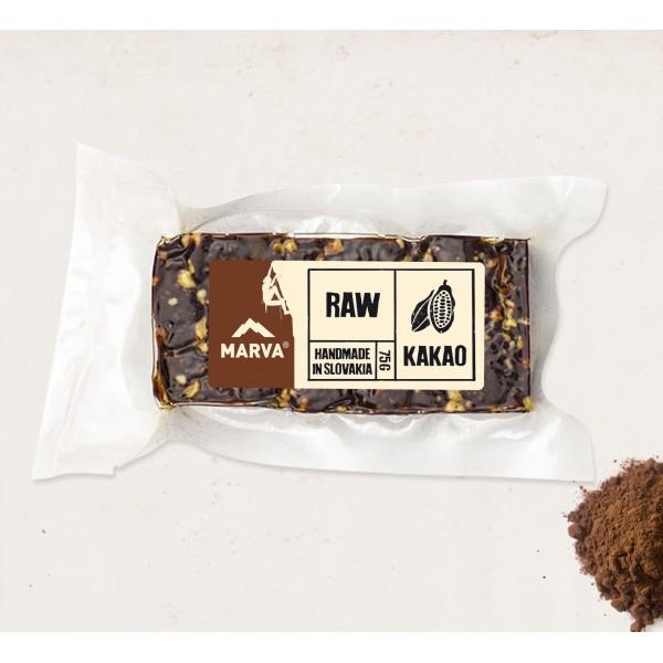 Tyčinka Marva kakao RAW 75g
