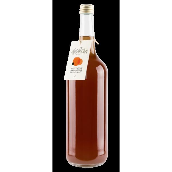 Sirup Herbert rakytník , mandarínka a earl grey 0,35ml