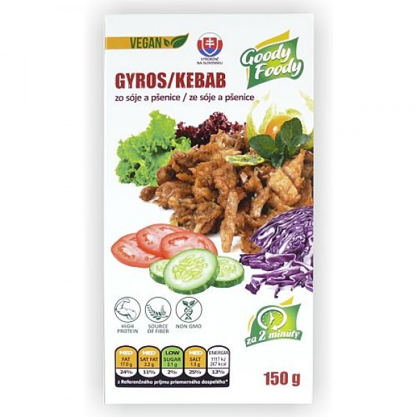 Gyros a kebab pečený Goody Foody 150g