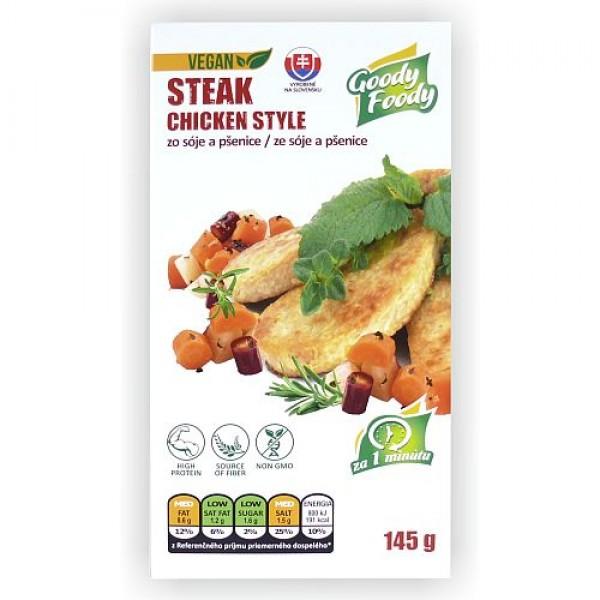 Rezeň s kuracou príchuťou vegánsky Goody Foody 145g