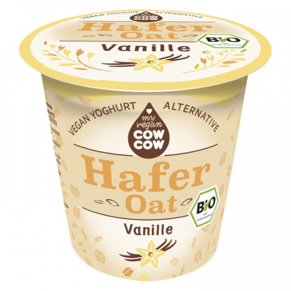 Jogurt ovsený vanilkový BIO 150g