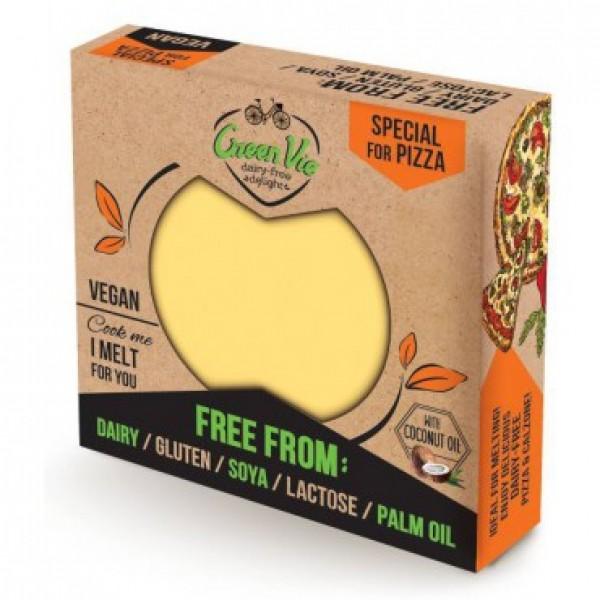 Rastlinná alternatíva syru pizza Greenvie 250g
