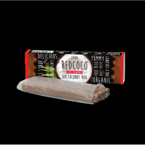 Kokosová tyčinka Redcoco kakao BIO 40g