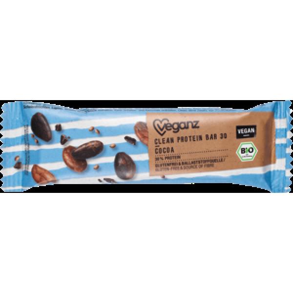 Proteínová tyčinka Clean s kakaovými bôbmi BIO 45g