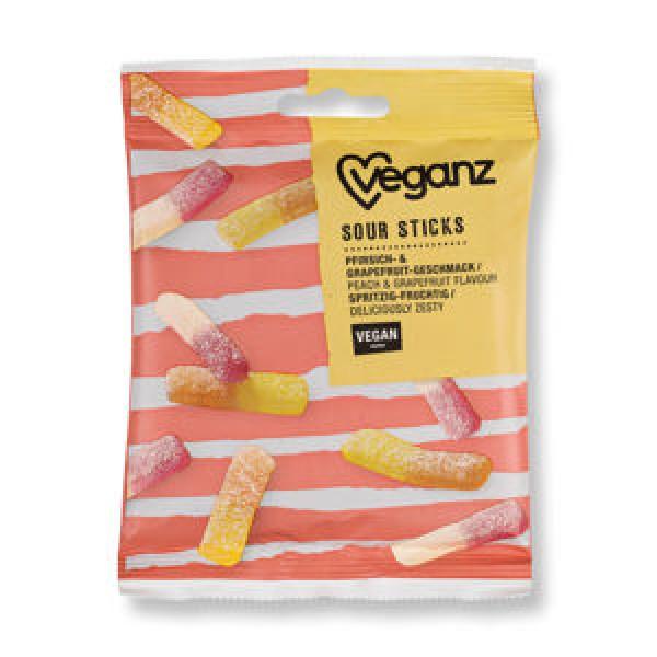 Gumové cukríky Kyslý mix vegánsky 100g