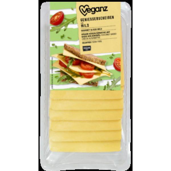 Syr rastlinný jemné plátky Veganz 125g