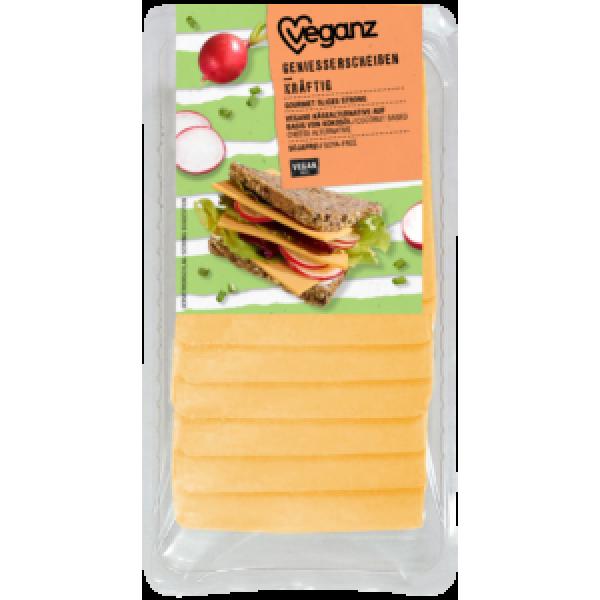 Syr rastlinný aromatické plátky Veganz 125g