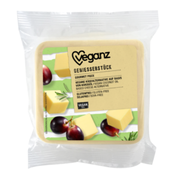 Syr rastlinný jemný blok Veganz 200g