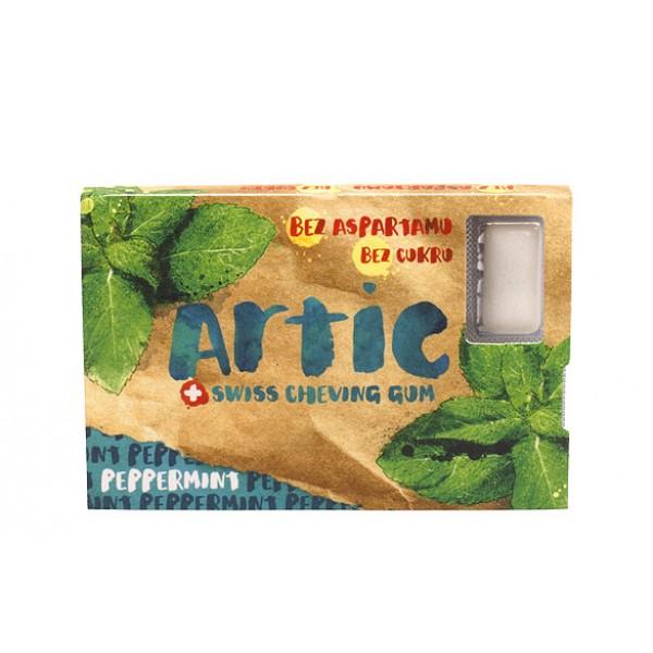 Žuvačky Artic peppermint 16g