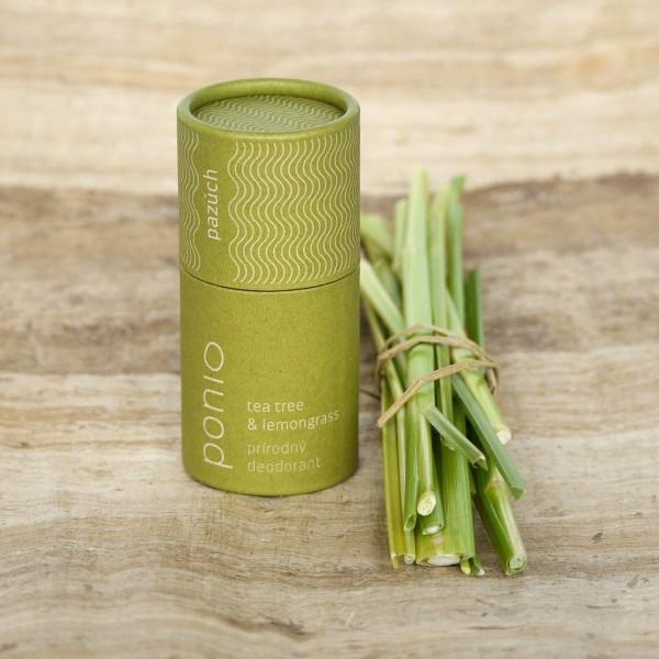 Dezodorant Tea Tree a lemongrass Ponio 44ml