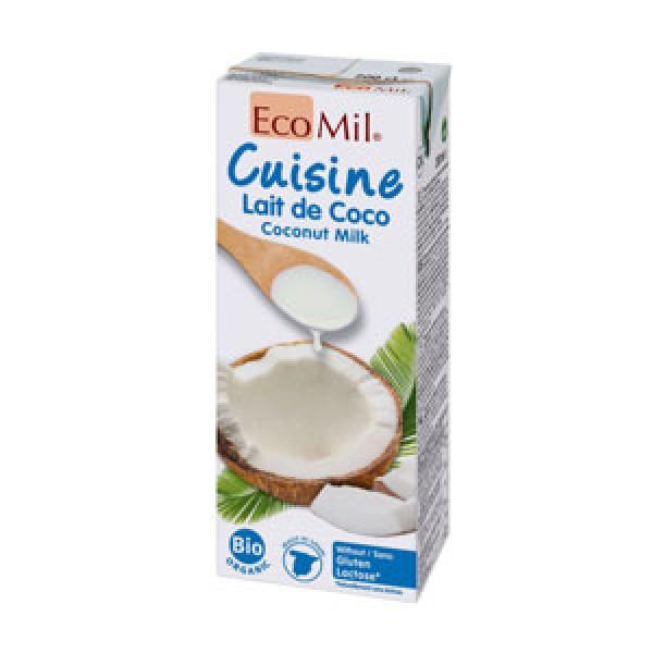 Kokosová smotana Ecomil 200ml
