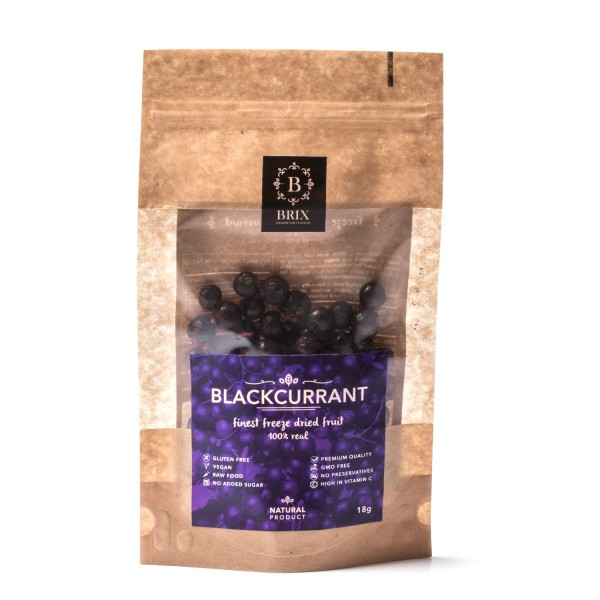 Mrazom sušená čierna ríbezľa 35g
