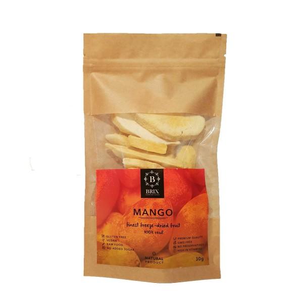 Mrazom sušené mango 30g