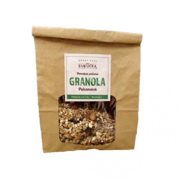 Bezlepková granola pekanová Pán Kukučka 450g