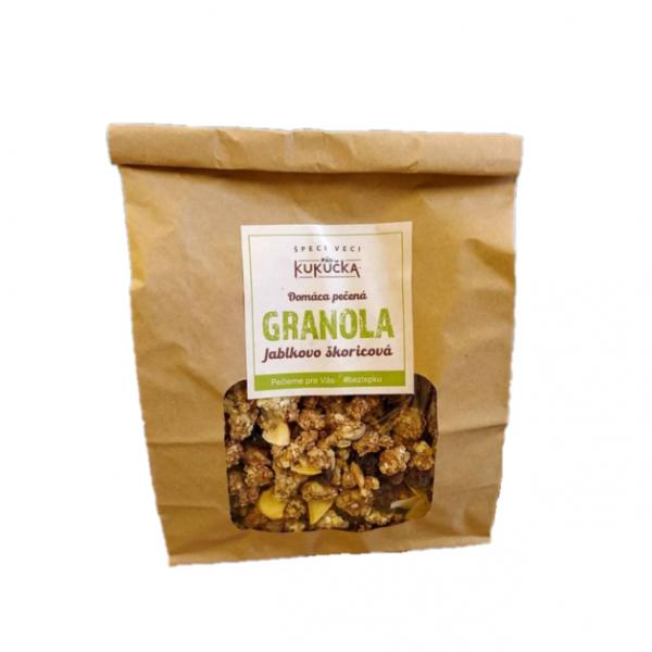 Bezlepková granola jablko škorica Pán Kukučka 450g