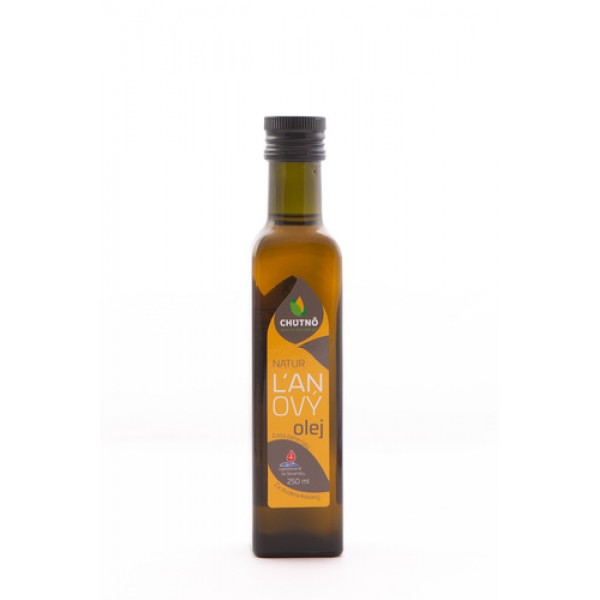 Ľanový olej Chutnô 250ml