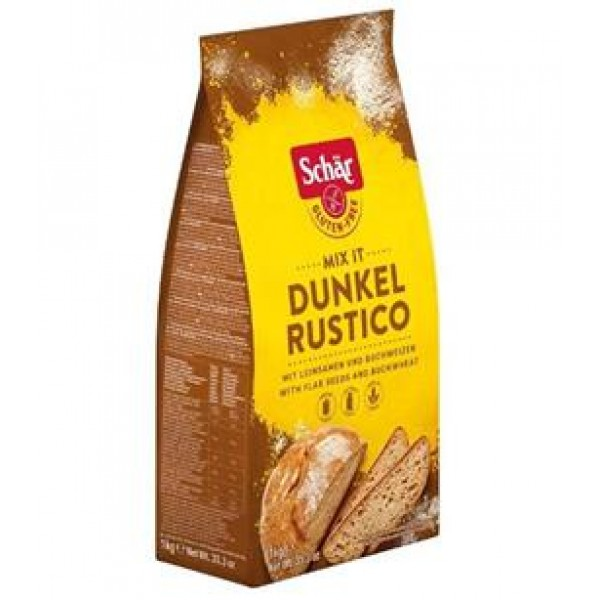 Zmes na tmavý chlieb Mix It Dunkel/Rustico 1kg Schär
