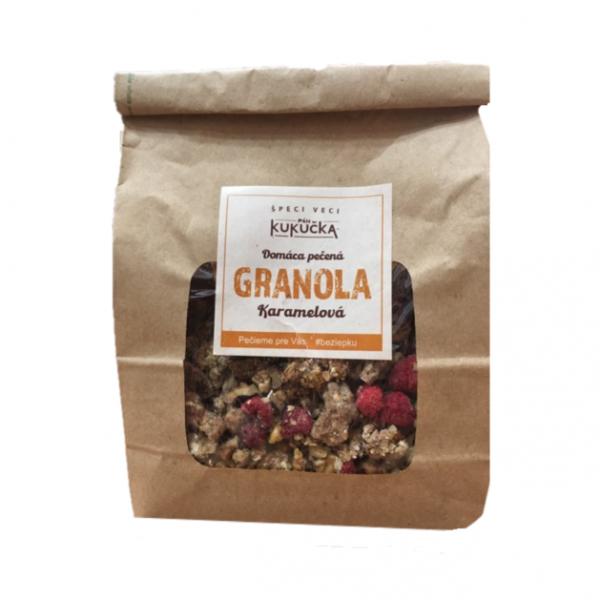 Bezlepková granola karamelová Pán Kukučka 450g