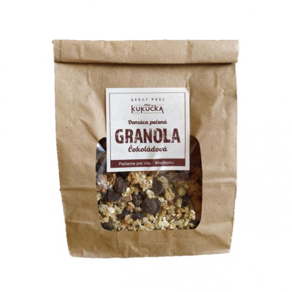 Bezlepková granola čokoládová Pán Kukučka 450g