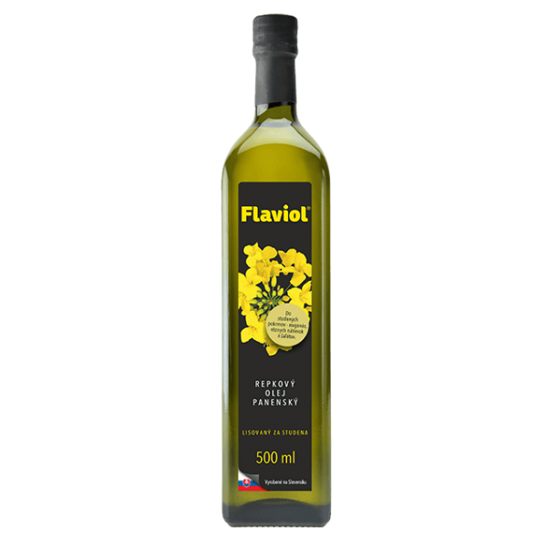 Olej repkový Flaviol panenský 500ml