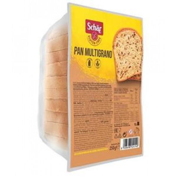 Chlieb Pan Multigrano bezgluténový 250g Schär