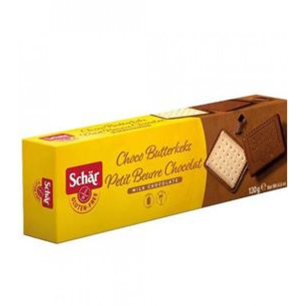 Sušienky Petit al cioccolato polomáčané 130g Schär