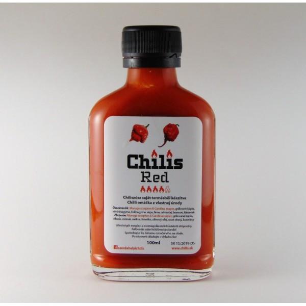 Chilis RED omáčka extra pálivá  50ml