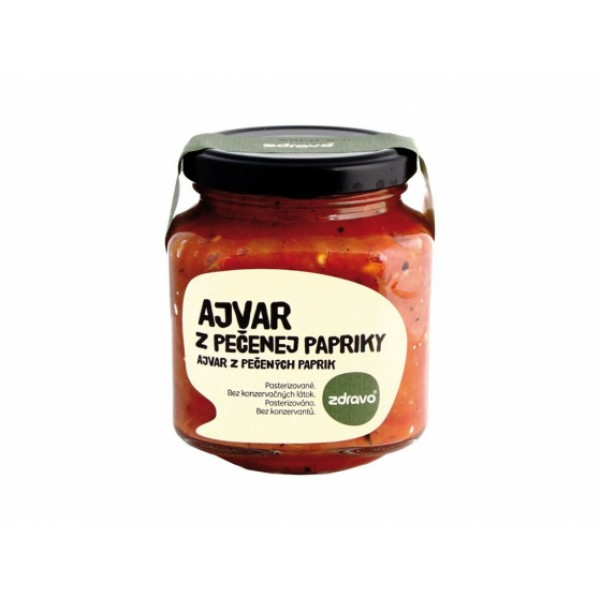 Ajvar z pečenej papriky 300g