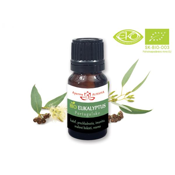 Eukalyptus Bio Esenciálny Olej 10ml